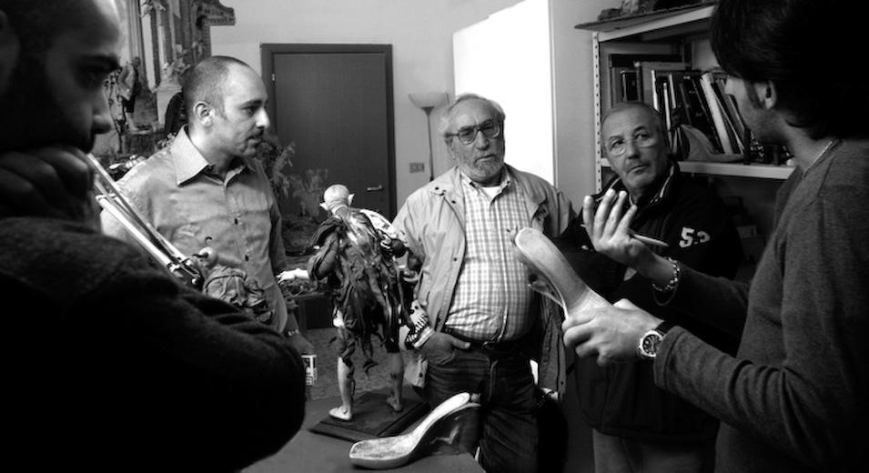 Con Gerardo Pedicini E Massimo De Chiara