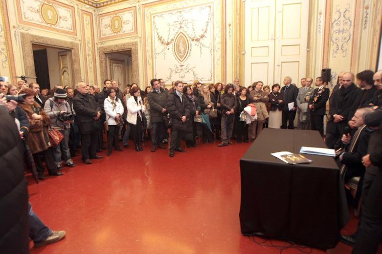 Conferenza Stampa Reggia Di Caserta