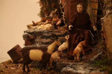 Presepe di New York - San Francesco