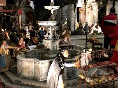 Presepe del Palazzo Reale Madrid - particolare