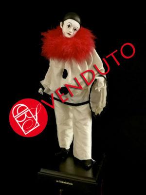0016 Pierrot - h 30cm