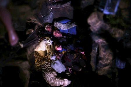 Presepe di Gerusalemme - scena dormienti