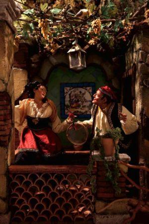 Presepe di Gerusalemme - danzatori
