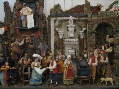 Scena Fontana Collezione Privata