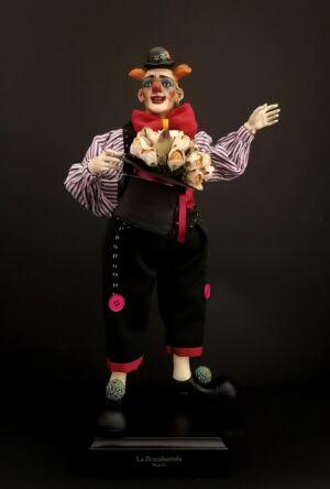 0302 Clown - h 30 cm