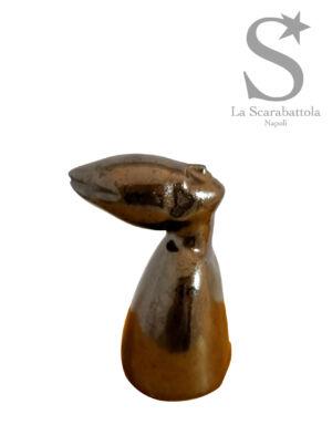 San Gennaro stilizzato (piccolo) - Ceramica - h 9 cm